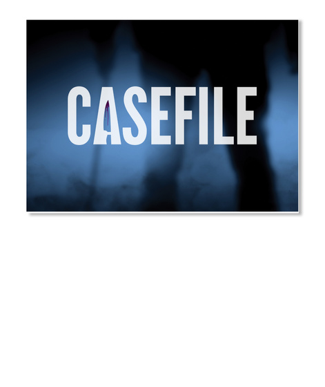 Casefile White Sticker Front