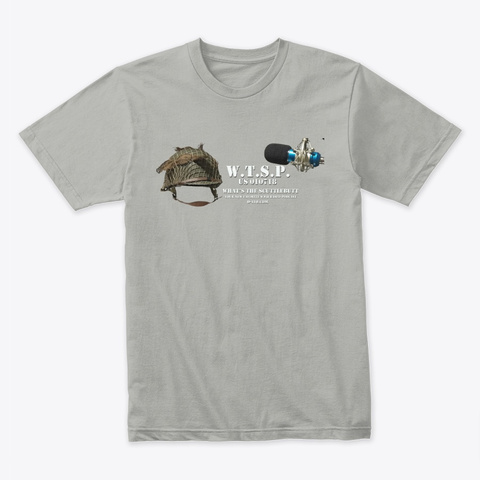 Wtsp V3 Light Grey T-Shirt Front