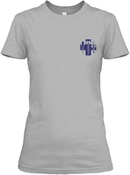 Proud Surgical Tech Shirt Sport Grey T-Shirt Front