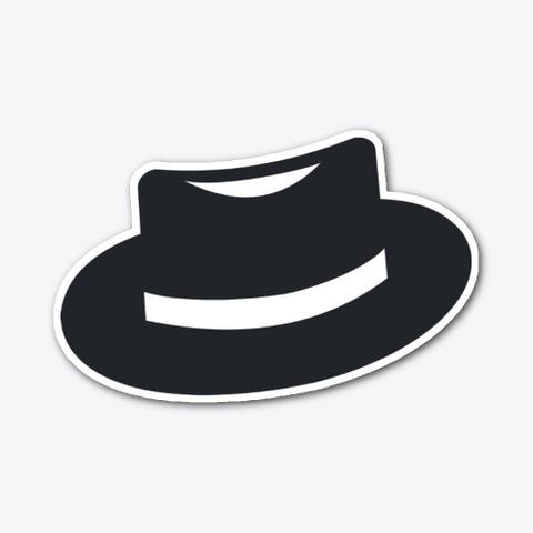 Black Hat Merch Standard T-Shirt Front