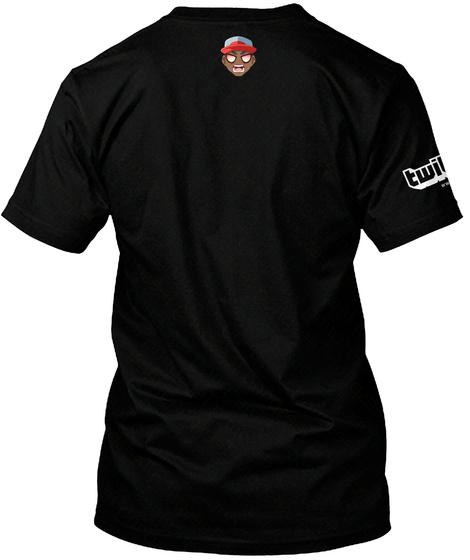 Bowski J Black T-Shirt Back