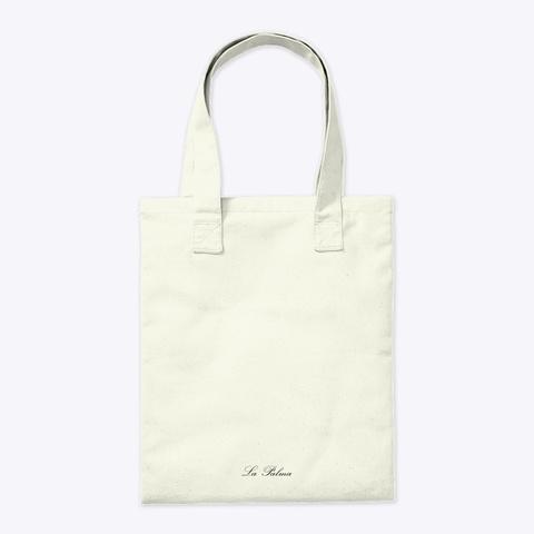La Palma Rusable Bag Natural T-Shirt Back