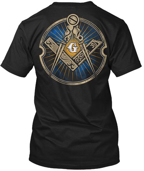 G Black T-Shirt Back