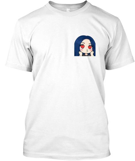 Natash Love White T-Shirt Front