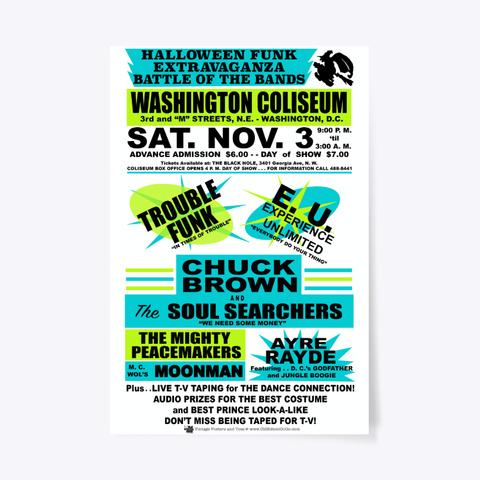 Battle Of The Bands   Coliseum   Poster Standard T-Shirt Front
