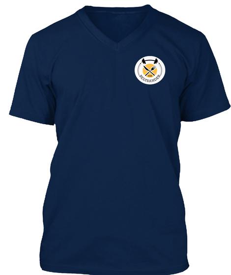 Beltsander Apparel  Navy T-Shirt Front