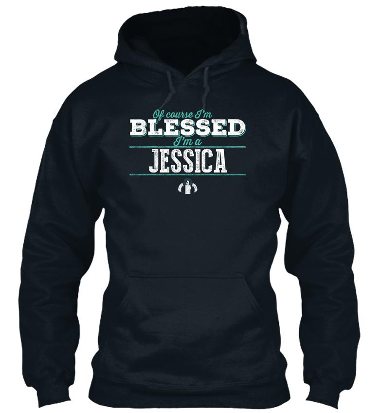 Easy-care Jessica Of Course Im Blessed! Sweat Capuche à Sweat à Capuche Sweat Confortable 62bbfa