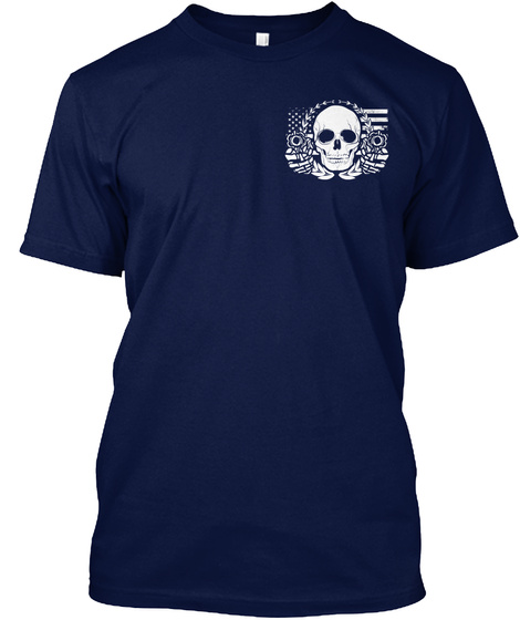 Armed Citizens Of Missouri! Navy T-Shirt Front