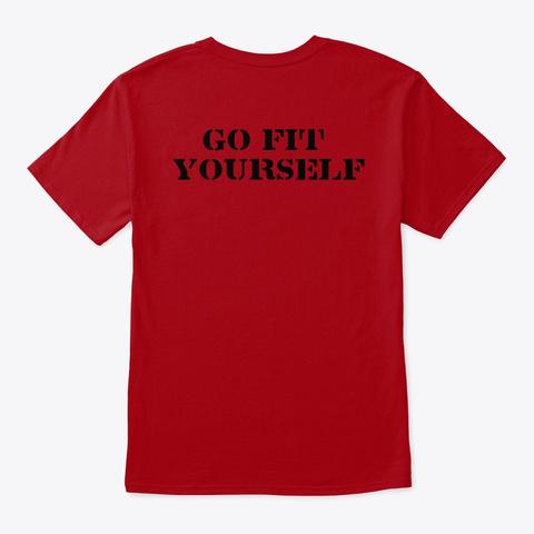 Pbf 2.0 Deep Red T-Shirt Back