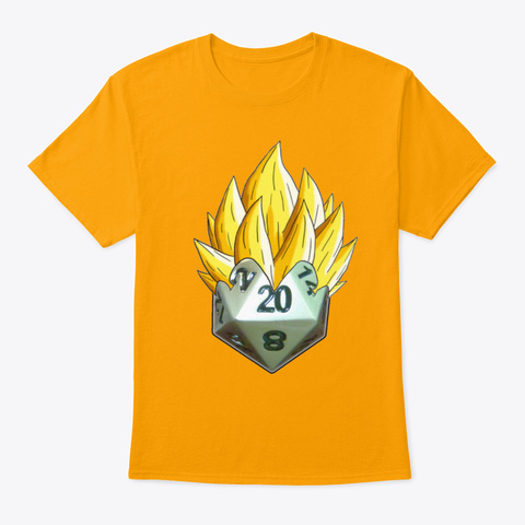 Super Critical ! Gold T-Shirt Front