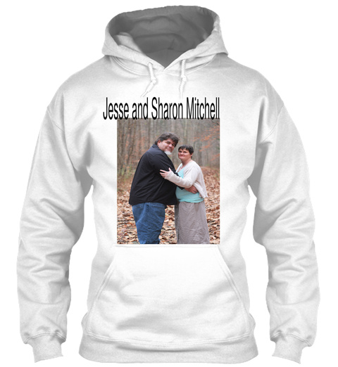 Jesse And Sharon Mitchell White T-Shirt Front
