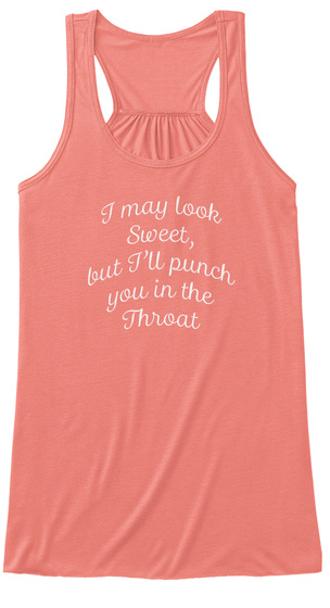 Throat Punch 2 Coral T-Shirt Front