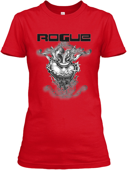 Rouge Red T-Shirt Front