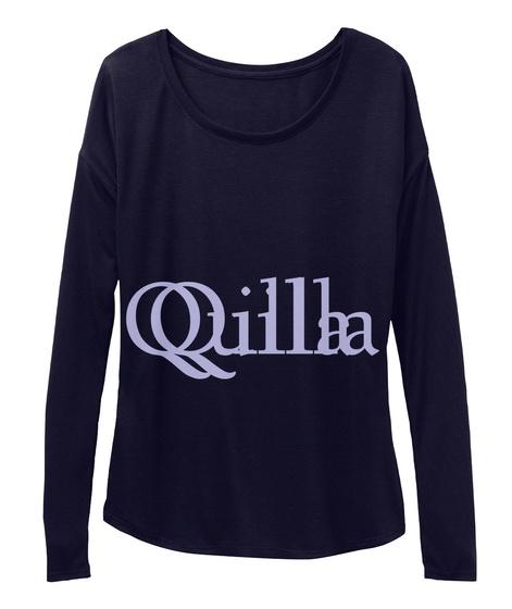Quilla Qilla Midnight T-Shirt Front