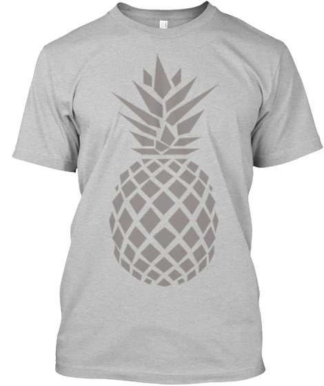 The Pineapple Light Heather Grey  Kaos Front