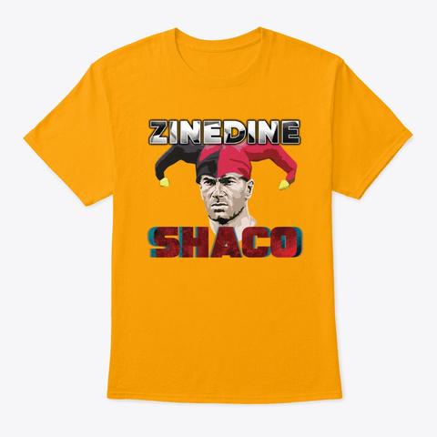 Zinedine Shaco Gold T-Shirt Front