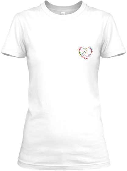 Awesome Caregiver Shirt White T-Shirt Front