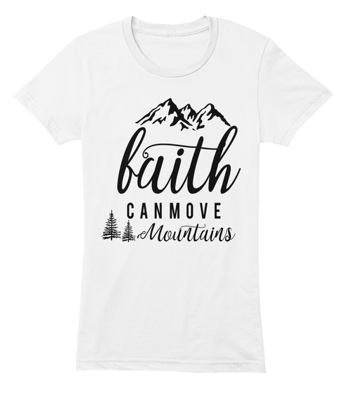 Faith And Modesty White T-Shirt Front