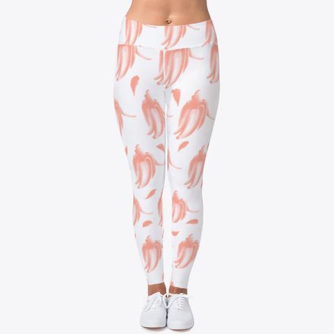 Pink Banana Pattern  Standard T-Shirt Front