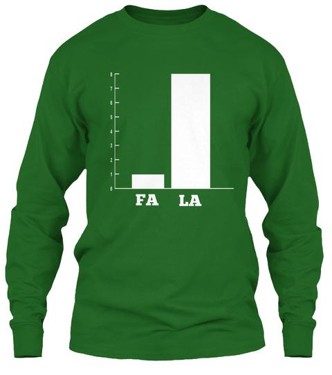 Fa La  Irish Green T-Shirt Front