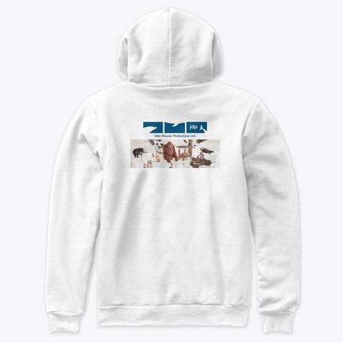 Spy Wolf Cub White T-Shirt Back