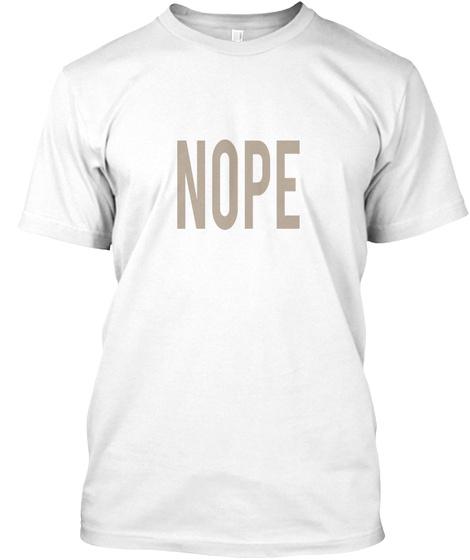 -Men/'s Tee Nope