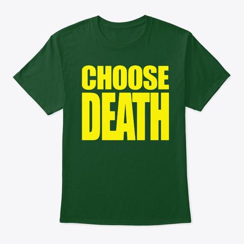 Necro Butcher Shirt Deep Forest T-Shirt Front