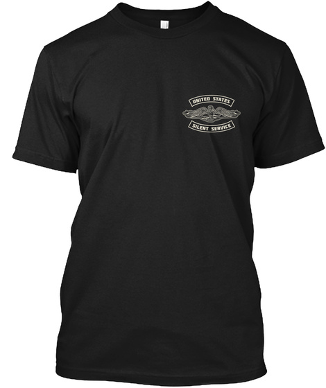 Pride In Service   Pride In Country Black T-Shirt Front