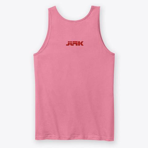Jjfk Media Cartel   Women Neon Pink T-Shirt Back