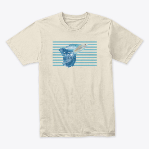 In The Ocean Cream T-Shirt Front