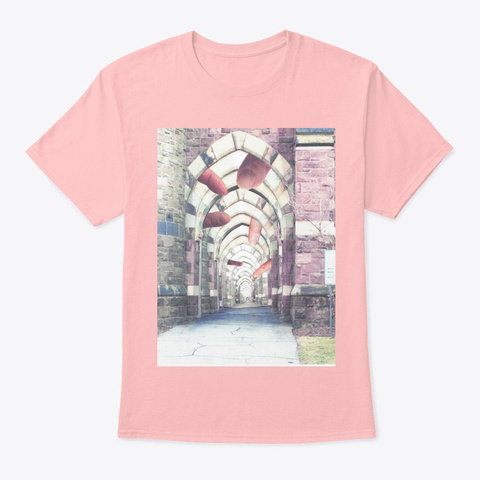 Pointing The Way Pale Pink T-Shirt Front