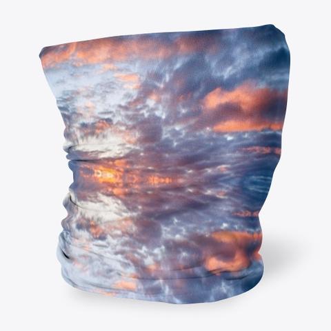 Alaska Sunrise Neck Gaiter Standard T-Shirt Side