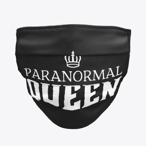 Paranormal Queen Black T-Shirt Front