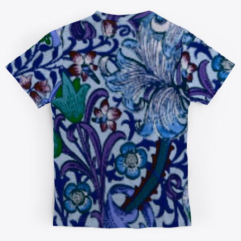 Pretty Floral Dressy Tee Standard T-Shirt Back