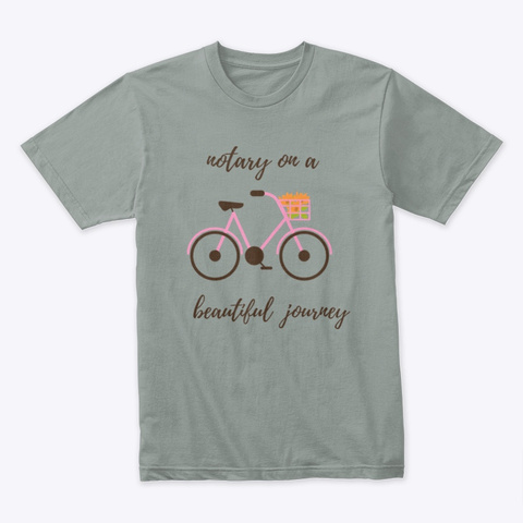 Our Journey Warm Grey T-Shirt Front