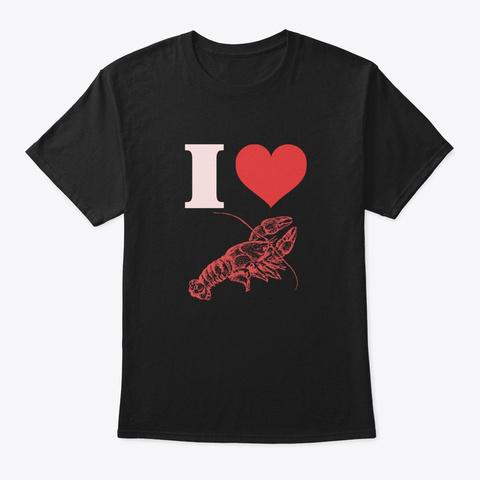 Crawfish Boil I Love Vintage Cajun Festi Black T-Shirt Front