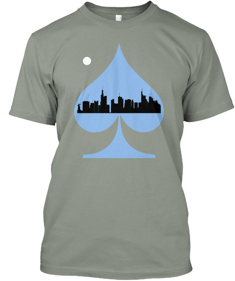 Spade Grey T-Shirt Front