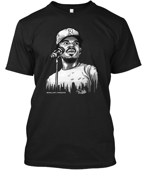 The Chano Collection Bw Black T-Shirt Front