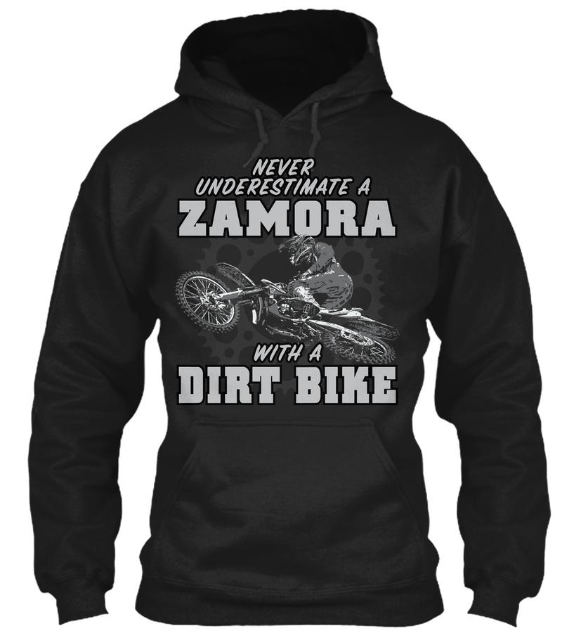 Zamora with a dirt bike Unisex Tshirt