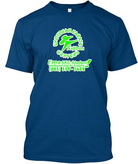 Skc Lexington's Tiger Team Sponsorship Cool Blue T-Shirt Front