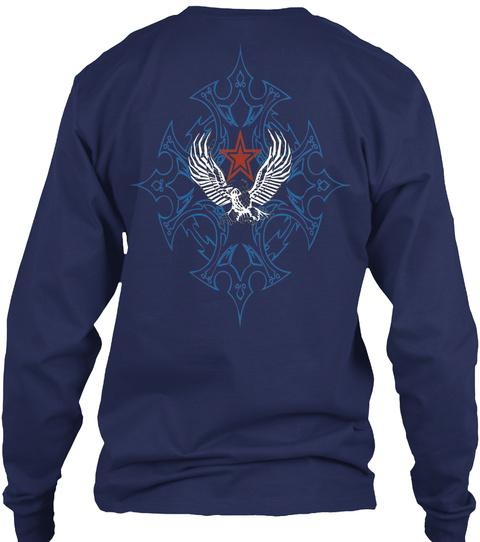 Lord Hustler Navy T-Shirt Back