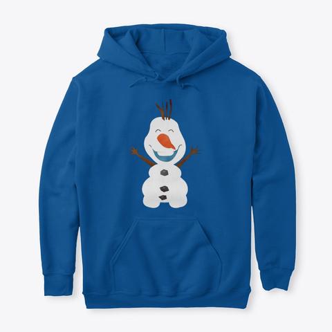 Snowman Christmas Gift Sweat,Tee,Mug Royal T-Shirt Front