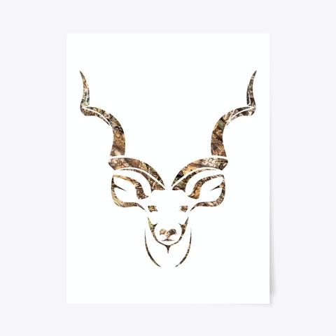Kudu Camo Art Standard T-Shirt Front
