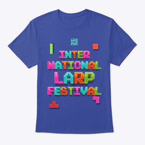 International Larp Festival   Digital Deep Royal T-Shirt Front