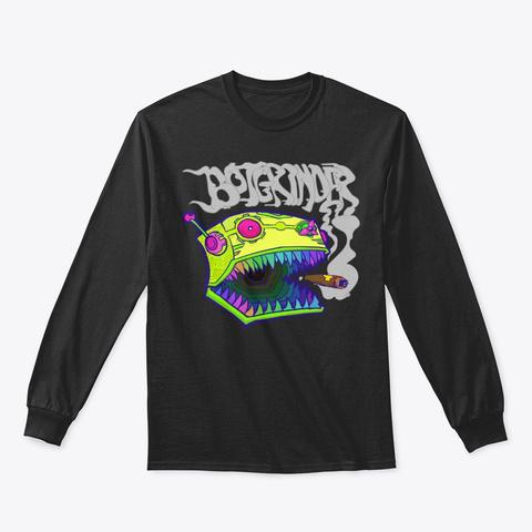 Techo Grinder Winter Edition Black T-Shirt Front