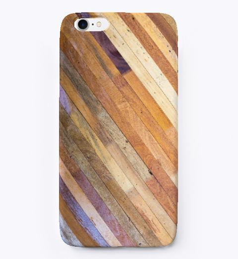 Best Wood Texture  I Phone Case Standard T-Shirt Front
