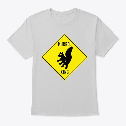 Murrel Xing Light Steel T-Shirt Front