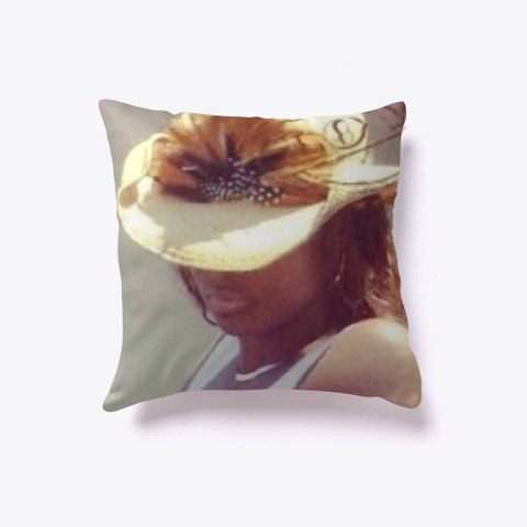 Busy Doing Nothing Throw Pillow Light Yellow T-Shirt Front