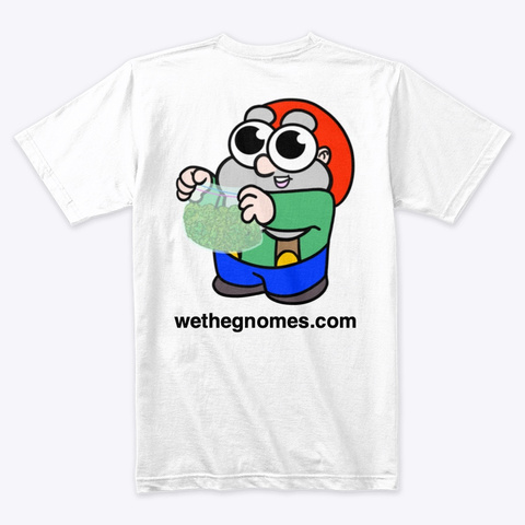 Gnome & Friends White T-Shirt Back