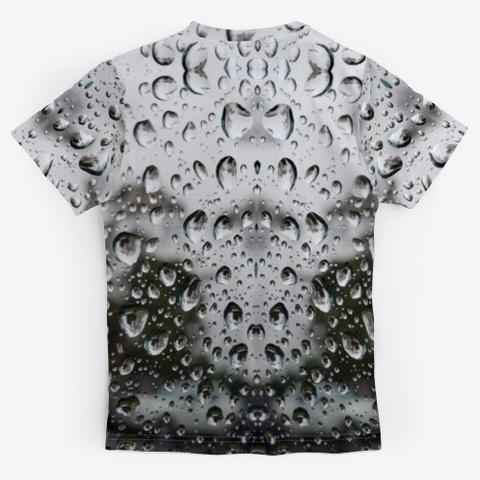 Rain Photo Art Standard T-Shirt Back